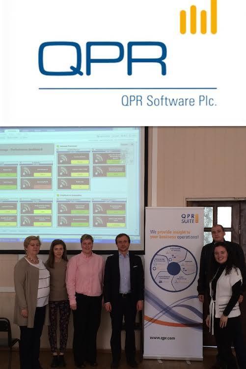 15 – 16 апреля 2014 года прошел двухдневный курс обучения по использованию информационных систем QPR Software в области стратегического и процессного управления организацией,